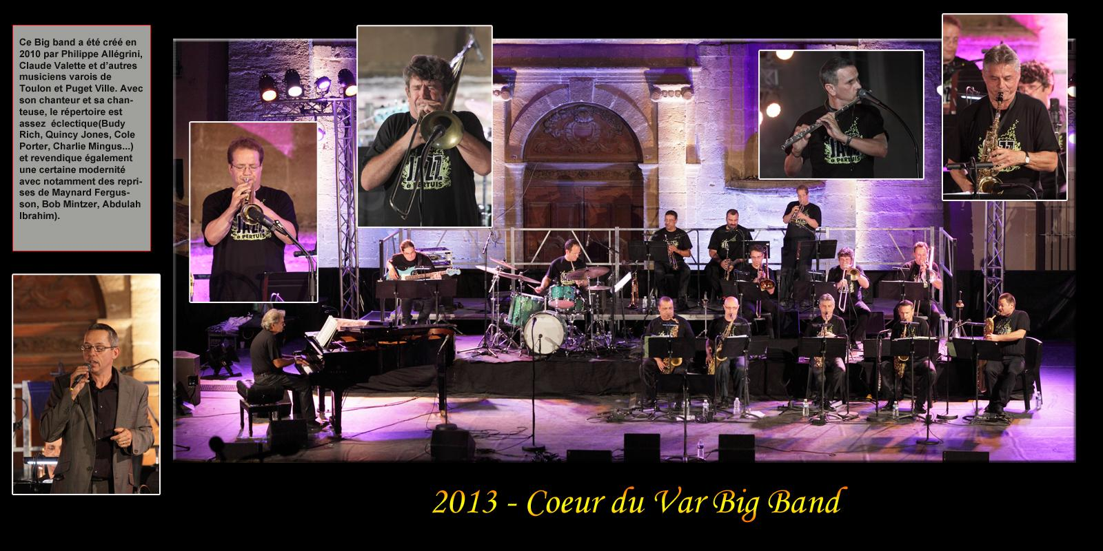 2013-Coeur du var Big Band